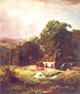 Albert Bierstadt, The Old Mill, 1855, oil on canvas, 43.5 x 37.8 in. / 110.5 x 95.9 cm, US$600