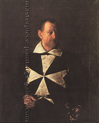Michelangelo Merisi da Caravaggio, Portrait of Alof-Wignacourt, 1608, oil on canvas, 46.7 x 37.6 in. / 118.6 x 95.5 cm, US$590