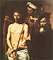 Michelangelo Merisi da Caravaggio, Ecce Homo, 1605, oil on canvas, 50.4 x 40.6 in. / 128 x 103 cm, US$510