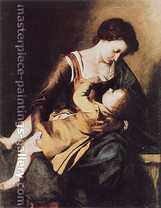 Michelangelo Merisi da Caravaggio, Madonna, 1602-04, oil on canvas, 51.6 x 35.8 in. / 131 x 91 cm, US$530