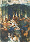 Paul Cézanne, The Orgy | The Banquet, 1867, oil on canvas, 25.5 x 18.2 in. / 64.8 x 46.2 cm, US$280