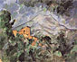 Paul Cézanne, Mont Sainte-Victoire and Chateau Noir, 1904-1906, oil on canvas, 25.8 x 31.9 in. / 65.6 x 81 cm, US$290