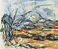 Paul Cézanne, Mont Saint-Victoire, 1890, oil on canvas, 21.3 x 25.6 in. / 54 x 65 cm, US$270