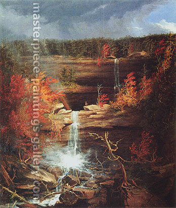 Thomas Cole, Kaaterskill Falls a.k.a. Falls of the Kaaterskill, 1826, oil on canvas, 43 x 36 in. / 109.2 x 91.4 cm, US$880