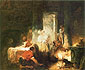 Jean Honore Fragonard, The Italian Family, 1759, oil on canvas, 19 x 23.5 in. / 48.9 x 59.4 cm, US$300