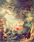Jean-Honore Fragonard, The Swing, 1767, oil on canvas, 32.6 x 26 in. / 82.9 x 66 cm, US$410