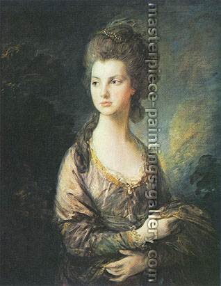 Thomas Gainsborough, The Honorable Mrs. Graham, 1775, oil on canvas, 24 x 18.7 in. / 61 x 47.4 cm, US$400