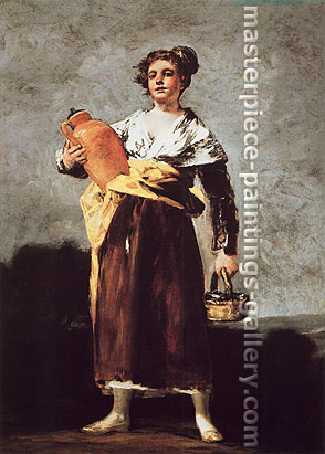 Francisco de Goya, The Water Carrier, 1808-12, oil on canvas, 32.1 x 23.9 in. / 81.6 x 60.6 cm, US$330