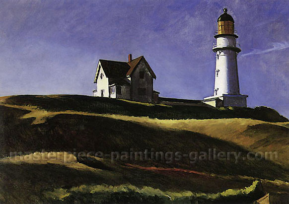 Lighthouse Hill, 1927, oil on canvas, 28.3 x 39.5 in./ 71.8 x 100.3 cm, US$330