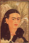 Frida Kahlo, Fulang Chang and I, 1937, oil on canvas, 23.6 x 16.5 in. / 60 x 42 cm, US$280