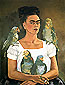 Canvas reproduction oil painting of Frida Kahlo