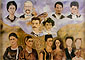Frida Kahlo, My Family, 1949, oil on canvas, 16 x 23.25 in. / 40.7 x 59 cm, US$270