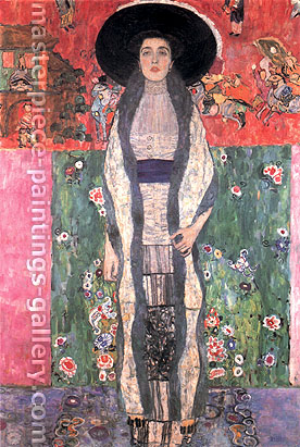Gustav Klimt, Portrait of Adele Bloch-Bauer II | Bildnis Adele Bloch-Bauer II, 1912, oil on canvas, 74.8 x 47.2 in. / 190 x 120 cm, US$950