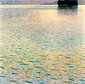 Gustav Klimt, Island in Lake Atter | Insel im Attersee, 1901, oil on canvas, 39.4 x 39.4 in. / 100 x 100 cm, US$380