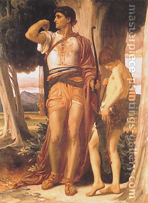 Lord Frederic Leighton, Jonathan's Token to David, 1868, oil on canvas, 67.5 x 49 in. / 171.5 x 124.5 cm, US$860