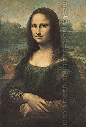 Leonardo da Vinci | Leonardo di ser Piero da Vinci, Mona Lisa | La Gioconda | Mrs. Francesco di Bartolomeo di Zanoli del Giocondo, 1510-1515, oil on canvas, 32 x 22 in / 81.3 x 55.9 cm, US$490