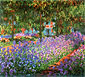 The Artist's Garden, Irises, 1900, oil on canvas, 31.9 x 36.2 in. / 81 x 92 cm, US$330