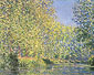 Claude Monet, A Bend in the River Epte, near Giverny | A Bend in the Epte | Un Tournant de l'Epte (W 1168), 1888, oil on canvas, 28.7 x 36.2 in. / 73 x 92 cm, US$360
