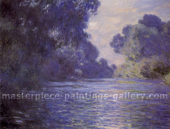 Claude Monet, Branch of the Seine near Giverny, 1897, oil on canvas, 29.5 x 36.4 in / 75 x 92.5 cm, US$530