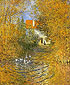 Claude Monet, The Duck Pond, 1874, oil on canvas, 28.3 x 23.2 in. / 72 x 58.8 cm, US$290