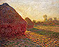 Haystacks in the Last Rays of Sun, 1890, oil on canvas, 28.7 x 36.2 in. / 73 x 92 cm, US$360