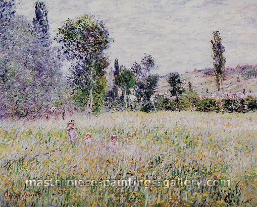 Claude Monet, The Meadow, 1879, oil on canvas, 32 x 39.3 in. / 81.3 x 99.7 cm, US$600