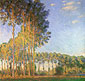 Claude Monet, Poplars on the Banks of the Epte, Seen from the Marshes, 1891, oil on canvas, 34.6 x 36.6 in. / 88 x 93 cm, US$340