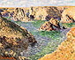 Claude Monet, Port-Donnant: Belle Ile | Port-Domois, Belle-Ile, 1886, oil on canvas, 25.6 x 31.9 in. / 65 x 81 cm, US$260