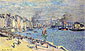 Claude Monet, The Quay at le Havre, 1874, oil on canvas, 23.7 x 40.2 in. / 60.3 x 102 cm, US$280