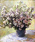 Claude Monet, Vase of Flowers, 1880, oil on canvas, 39.4 x 31.9 in. / 100 x 81 cm, US$375