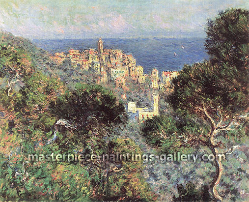 Claude Monet, View of Bordighera (W 853), 1884, oil on canvas, 26 x 32.3 in. / 66 x 81.9 cm, US$285