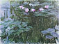 Claude Monet, Water Lilies 9, 1914-17, oil on canvas, 35.4 x 47.2 in. / 90 x 120 cm, US$420