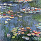 Claude Monet, Water Lilies (W 1800), 1916, oil on canvas, 36 x 36 in. / 91.4 x 91.4 cm, US$360