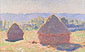 Claude Monet, Wheatstacks, Full Sunlight (W 1267), 1890, oil on canvas, 23.6 x 39.4 in. / 60 x 100, US$400