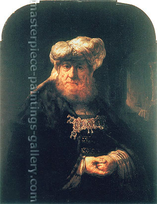 Rembrandt van Rijn, King Uzziah Stricken with Leprosy, 1663, oil on canvas, 39.8 x 31.1 in. / 101 x 79 cm, US$390