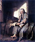 Rembrandt van Rijn, The Apostle Paul in Prison, 1627, oil on canvas, 28.7 x 23.7 in. / 72.8 x 60.2 cm, US$330