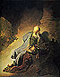 The Prophet Jeremiah Mourning over the Destruction of Jerusalem, 1630, oil on canvas, 32 x 25.6 in / 81.3 x 65 cm, US$320