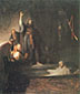 Rembrandt van Rijn, The Raising of Lazarus, 1630-31, oil on canvas, 37.9 x 32.1 in. / 96.2 x 81.5 cm, US$390