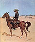 Frederic Remington, The Puncher, 1895, oil on canvas, �24 x 20.3 in. / 61 x 51.3 cm, US$250