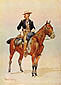 Frederic Remington, Lieutenant S.C. Robertson, Chief of the Crow Scouts, 1890, oil on canvas, 24 x 18.1 in. / 61 x 45.9 cm, US$255