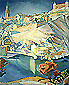 View of Toledo, 1912, oil on canvas, 38 x 30.8 in / 96.5 x 78.4 cm, US$310