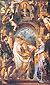 Peter Paul Rubens, The Madonna di Vallicella, St. Gregory the Great, and Saints, 1607-08, oil on canvas, 62.3 x 37.6 in. / 158.3 x 95.7 cm, US$1,100
