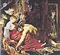 Peter Paul Rubens, Samson And Delilah, 1609, oil on canvas, 36.4 x 40.4 in. / 92.5 x 102.5 cm, US$590