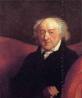 Gilbert Stuart, Portrait of John Adams, 1826, oil on canvas, 30 x 25.1 in. / 76.2 x 63.8 cm, US$300