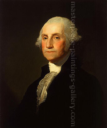 Gilbert Stuart, Portrait of George Washington, 1803, oil on canvas, 26 x 21.7 in. / 66 x 55 cm, US$280