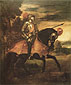 Titian | Tiziano Vecellio, Charles V on Horseback, 1548, oil on canvas, 65.4 x 54.9 in. / 166.1 x 139.4 cm, US$760