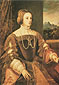 Titian | Tiziano Vecellio, The Empress Isabella, 1545, oil on canvas, 32.3 x 22.2 in. / 82 x 56.3 cm, US$330