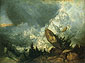 The Fall of an Avalanche in the Grisons, 1810, oil on canvas, 27 x 36 in / 68.6 x 91.4 cm, US$320