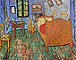 Vincent's Bedroom in Arles, 1889, oil on canvas, 28.5 x 36 in x 72.5 x 91.4 cm, US$300