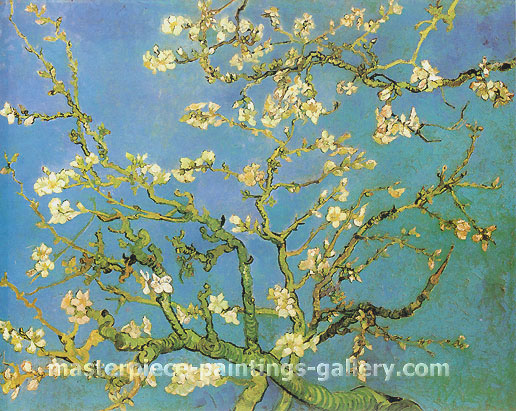 Vincent van Gogh, Blossoming Almond Tree, 1890, oil on canvas, 28.9 x 36.2 in. / 73.5 x 92 cm, US$340